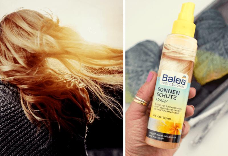 Test und Review Balea Sonnenschutz Spray für die Haare