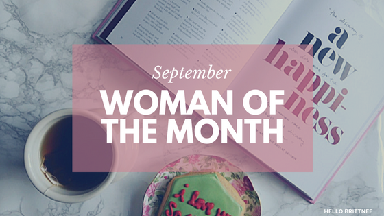 September's Woman of the Month