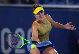 Swiss, Belinda Bencic, defeated, Czech Republic's,  Marketa Vondrousova, wins, Olympic, women's singles, gold medal.