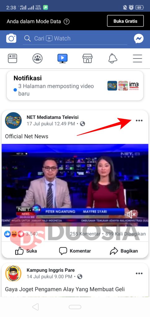 Download Video Facebook di HP Mudah Menggunakan Layanan Savefrom.net