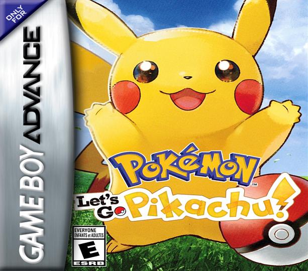 Pokémon Lets Go Pikachu ROM GBA