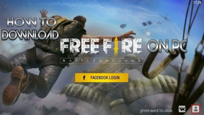 Garena Free Fire Game - How to Download & Play on PC?
