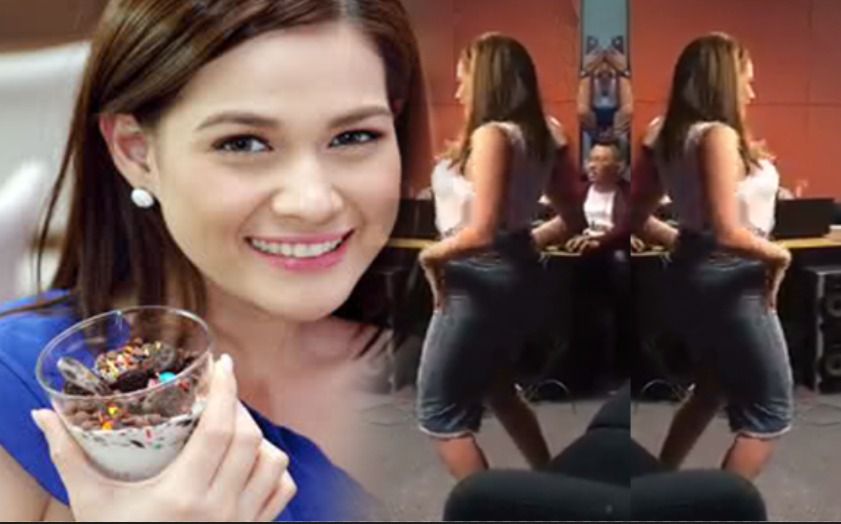 trumpet dance video by Bea Alonzo