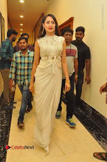 Actress Pragya Jaiswal Stills in Beautiful White Dress at turodu Audio Launch  0076.JPG