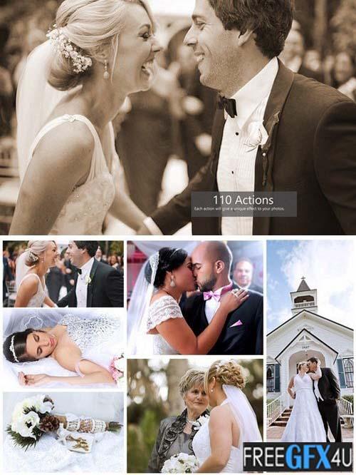 175 Photoshop Wedding Actions