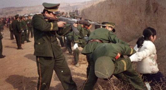 Αποτέλεσμα εικόνας για chinese firing squad photos