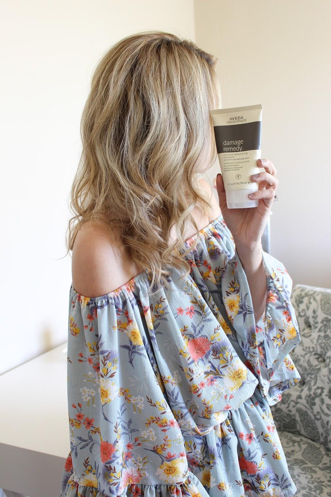hair care - hair - Aveda - blonde - healthy hair