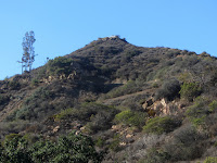 View north toward Mt. Hollywood, Griffith Park