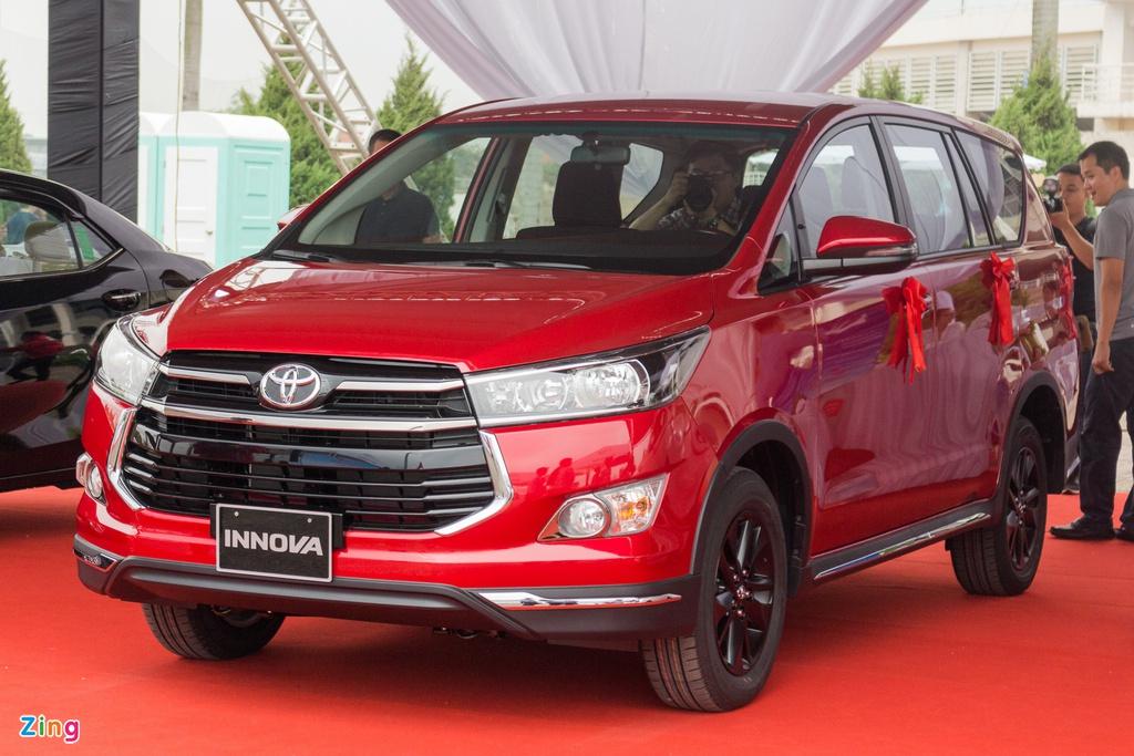 Toyota Innova thất thế ở phân khúc MPV 7 chỗ trong tháng 5