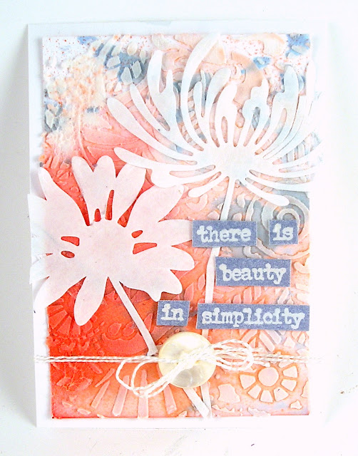 Ranger Mini Layering Stencil #47 Ranger Distress Ink Sprays