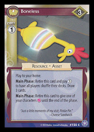 MLP Boneless The Crystal Games CCG Card