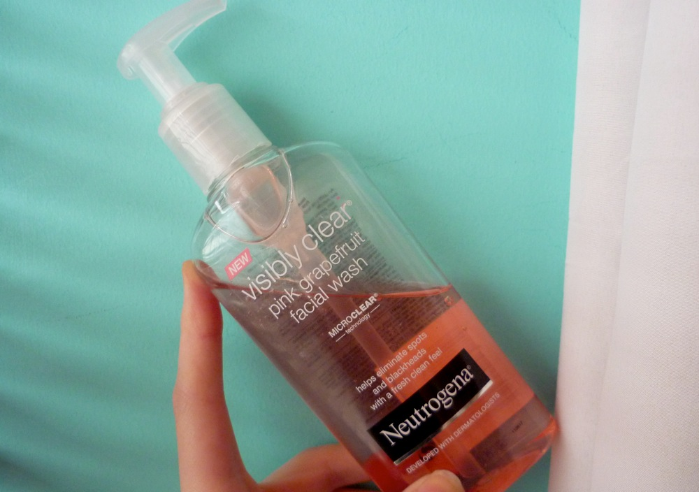 Neutrogena Pink Grapefruit Facial Wash Review Thunder And Threads