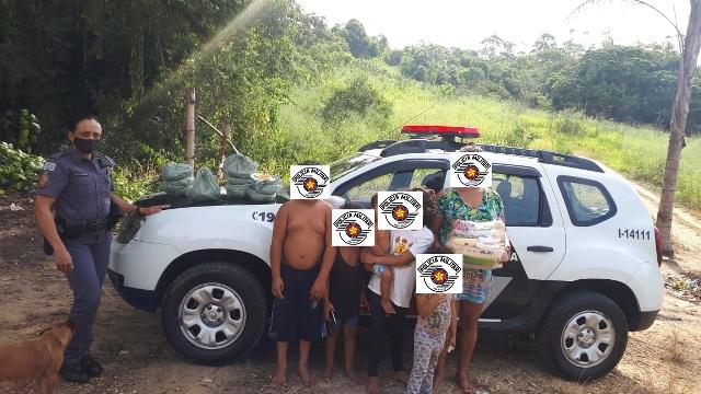 POLÍCIA MILITAR DO 14° BPM/I ARRECADA 2240 QUILOS DE ALIMENTOS