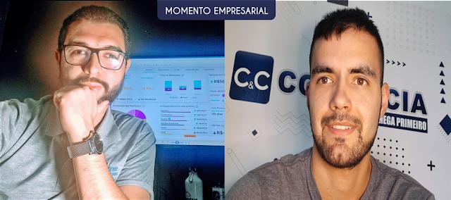Denílson Moura (Contabiline) e Rudney Oliveira (Cotia e Cia).