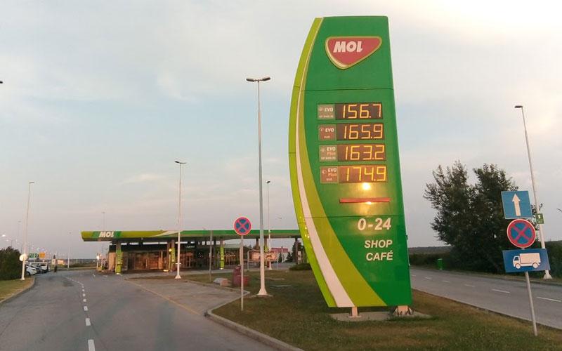 Mol Petrol Batrovci (Sırbistan Yönü)