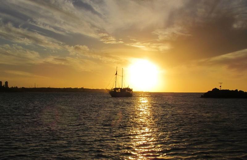 Pôr do Sol em Fortaleza