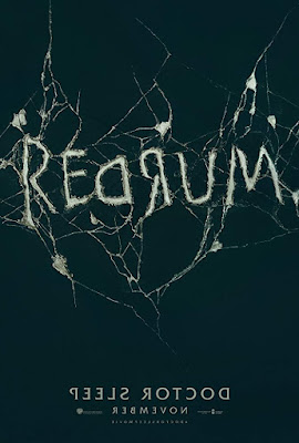 Stephen King's Doctor Sleep 2019 movie poster that says REDRUM