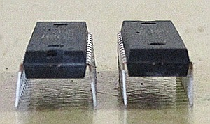 Comparing the Pins of New & Old IC, ATMEGA328P-PU