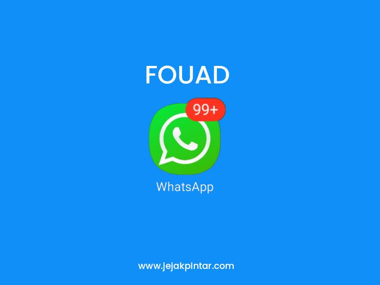 Download Fouad WhatsApp Mods APK Anti Banned Versi Terbaru 2020