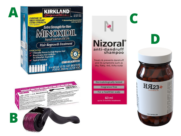 products to stop hair loss