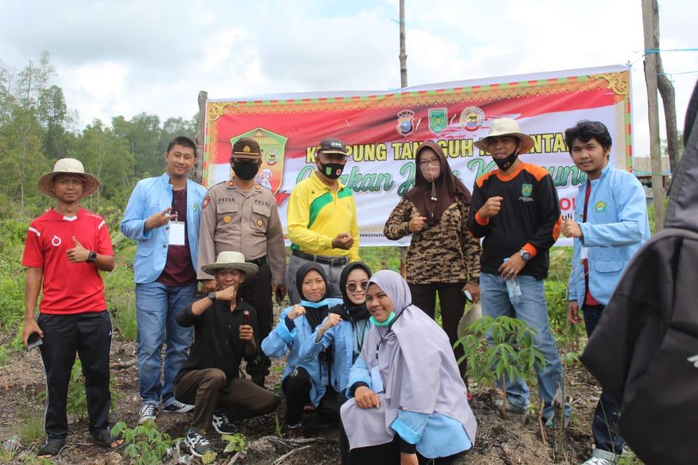Tingkatkan Ketahanan Pangan, Kecamatan di Kabupaten Inhil, Riau Ini Bangun Kampung Tangguh Nusantara