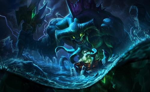 Cresht giả hình tượng một thủy quái cực mạnh
