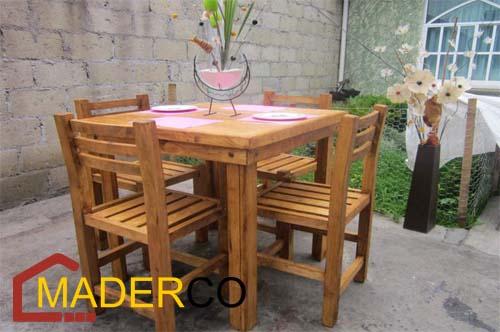 Bancos de madera para cocina en surco peru ventas - Sillas madera cocina ...