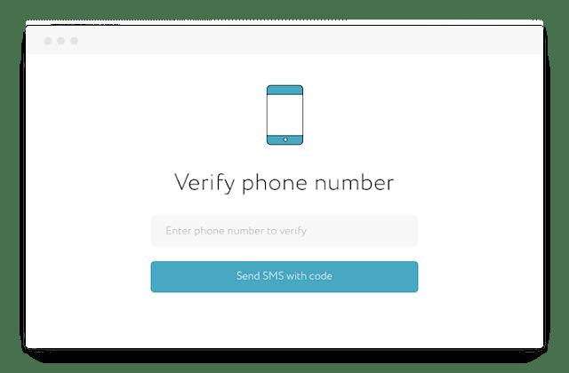 هل يجب عليك تقديم رقم الهاتف لغرض التحقق اثناء التسجيل في المواقع