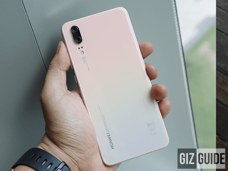 Huawei P20 Pink Gold will be available in PH at Plan 3799!