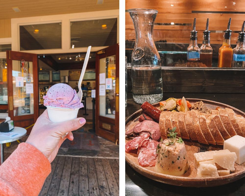 travel blogger Amanda Martin of @amandasok shares where to eat in Jackson Hole, Wyoming