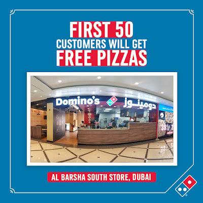 Dominos Free Pizza Offer Dubai