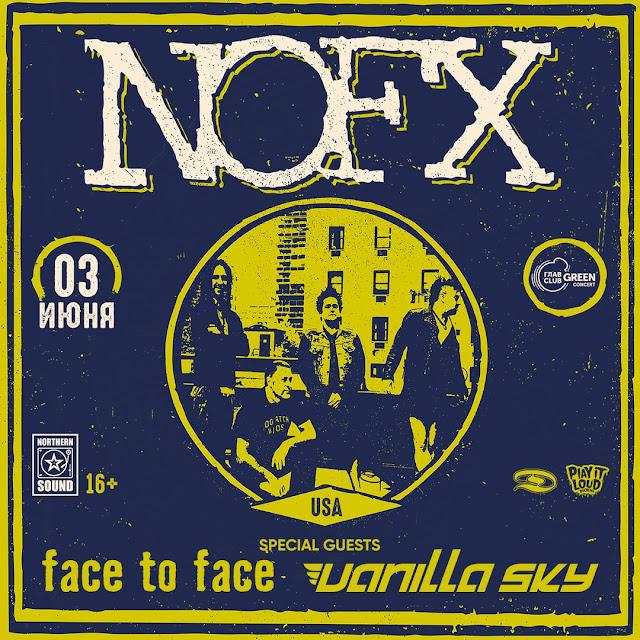 Face To Face и Vanilla Sky откроют московский концерт NOFX