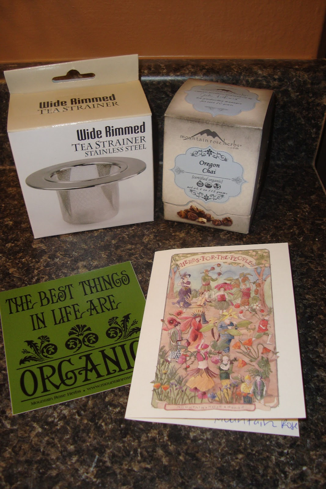 Trying To Go Green: Mountain Rose Herbs Review