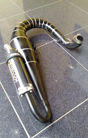 Vespa PX 125-200cc exhaust