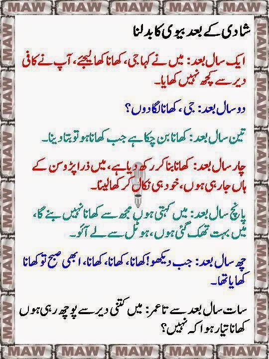 Husband Wife Jokes In Urdu Mian Bivi Urdu Lateefay: Husband Wife Jokes In Urdu, Mian Bivi Urdu Latifay 2014