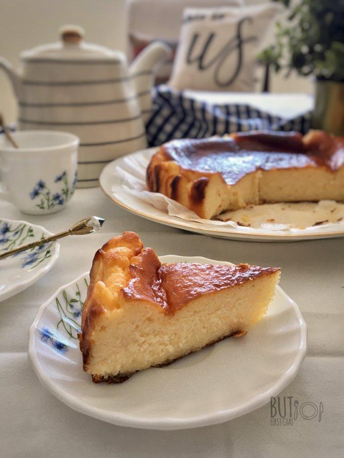 San Sebastián Basque Burnt Cheesecake