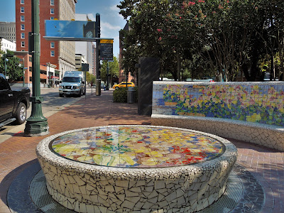 Water feature at Market Square - Congress Street sidewalk