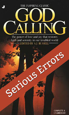 "If you are a Christian reading any of Sarah Young's popular books such as ""Jesus Calling,"" you need to be aware that her inspiration comes from this book that contradicts Scripture and is based on occult ""channeling.""   #JesusCalling #GodCalling"