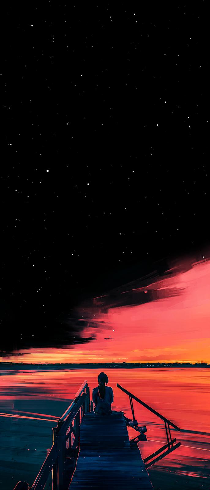 dusk by Alena Aenami