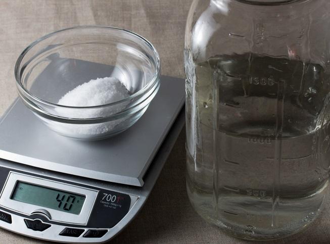 perubahan fisika pada garam