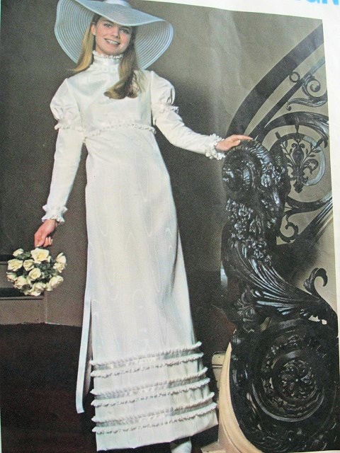 Bride Chic Late 60s Early 70s Chic