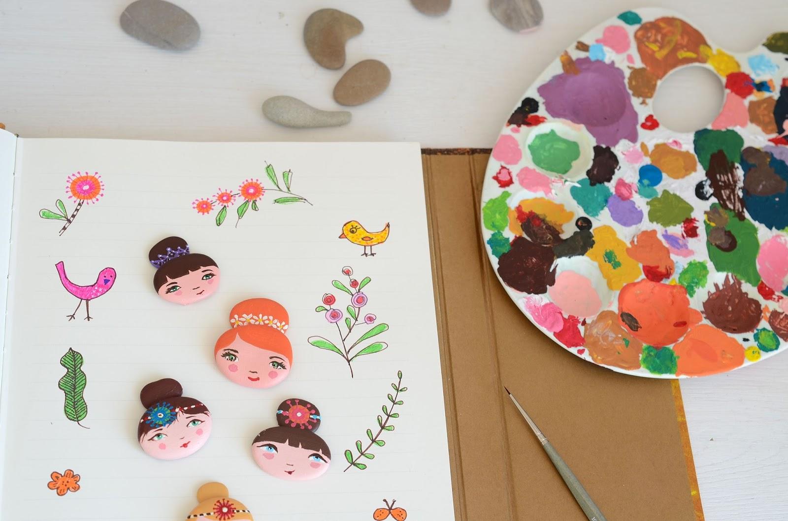 Dipingere Sassi Per Natale linfa creativa: i miei sassi dipinti
