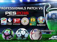 Option File PES 2016 Terbaru untuk PES Professional V5