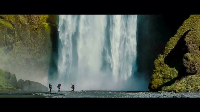 The secret life of walter mitty beautiful travel scenery in movie