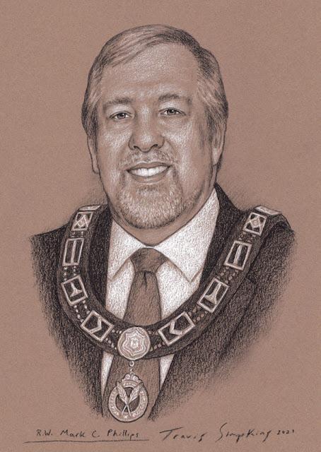 R.W. Mark C. Phillips. Grand Secretary. Grand Lodge of Oregon. by Travis Simpkins