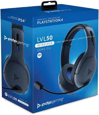 PDP PS4 LVL50 Wireless Stereo Gaming Headset