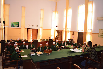 Pengamatan Sistem Pengadilan Mahasiswa HMJ AS di Pengadilan Negeri Bangil | lpm dalwa | dalwa