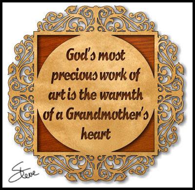 Scrollsaw Workshop: Grandmother\'s Heart Scroll Saw Pattern.