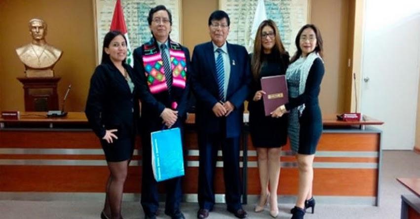 Convenio Marco de Cooperación Institucional entre UNH y UNMSM