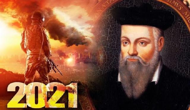 Previsioni di Nostradamus per il 2021: chip cerebrali in soldati e comete colpiscono la terra